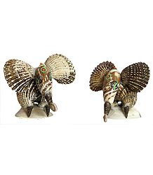 Set of 2 Elephants