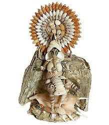 Lord Ganesha - Shell Craft