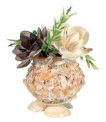 Shell Flower Vase