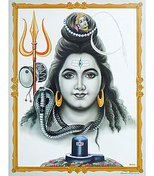 Buy Lord Shiva Poster