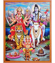 Shop Online Shiva Parivar Picture