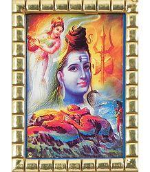 Shiva Locks River Ganga in His Hair