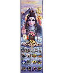Lord Shiva and 12 Jyotirlingas