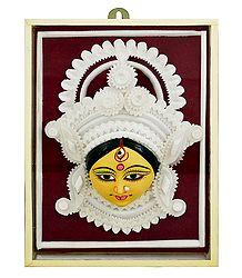 Clay Face of Durga