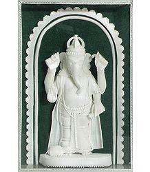 Sholapith Ganesha Statue