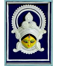 Face of Durga - Wall Hanging