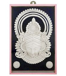 Shop Online Shola Pith Face of Durga