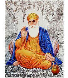 Guru Nanak - Glitter Poster