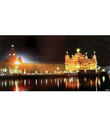 The Golden Temple of Amritsar - poster