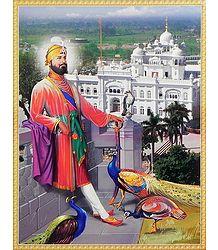 Bird Lover Guru Govind Singh - Poster