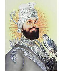 Guru Govind Singh - Glitter Poster
