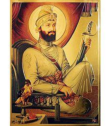 Guru Govind Singh - Buy Online Metallic Poster