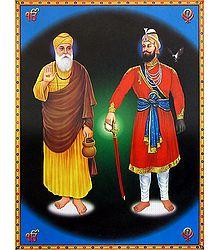 Guru Nanak and Guru Gobind