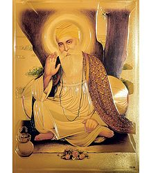 Guru Nanak - Buy Metallic Picture