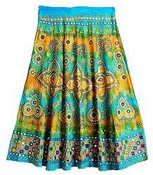 Embroidered Cotton Lehenga