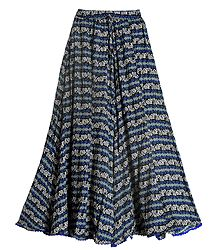 Buy Lycra Long Skirt