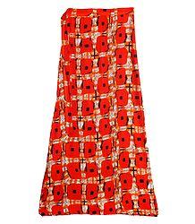 Saffron Wrap Around Skirt