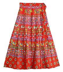 Block Print Skirt - Buy Online