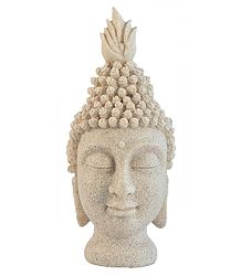 Sand Stone Buddha Head