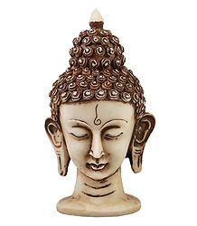 Light Brown Buddha Head