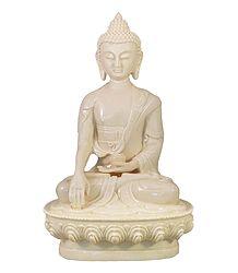 Shop Online Medicine Buddha - Marble Dust Statue