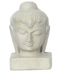 Buddha Face - Stone Statue