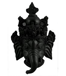 Lord Ganesha - Stone Dust Statue - Wall Hanging