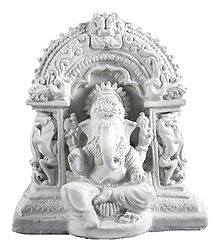 Lord Ganesha - Stone Dust Statue