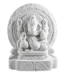 Stone Dust Vinayak Statue
