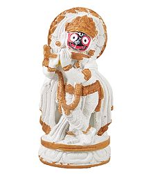 Jagannath as Krishna - Stone Dust Statue