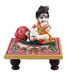 Bal Gopal Sitting on Chowki