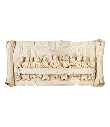 Last Suppper - Stone Dust Wall Hanging