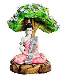 Shop Online Marble Dust Buddha Statue