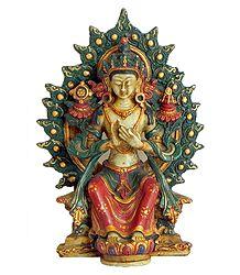Maitreya Buddha Stone Dust Statue