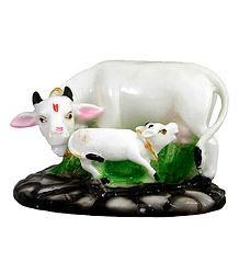 Sacred Cow with Calf