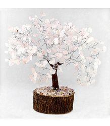 Buy 300 Rose Quartz Stone Chips Wire Tree