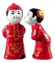 Tibetan Couple - Set of 2