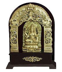 Goddess Lakshmi - Stone Dust Statue