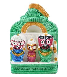 Jagannath, Balaram, Subhadra for Car Dashboard