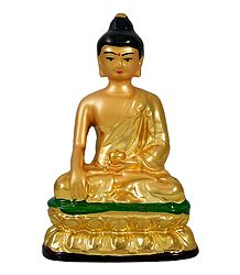 Golden Buddha with Golden Robe