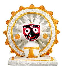 Sri Jagannath - Stone Dust Statue