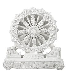 Chariot Wheel of Konark Temple - Stone Sculpture