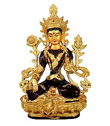 Buy Marble Dust White Tara Statue