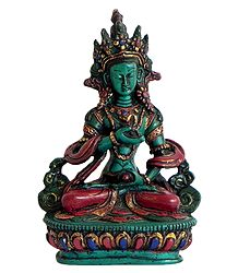 Buy Online Turquoise Green Stone Dust Statue