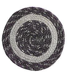 Hand Woven Round Centre Table Mat