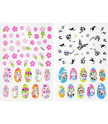 Printed Cartoon Sticker for Nails