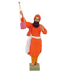 Terracotta Statue of Baul Singer - Online Shop