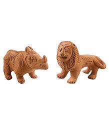 Buy Terracotta Animal Sculpture