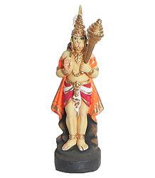 Clay Statue of Hanuman