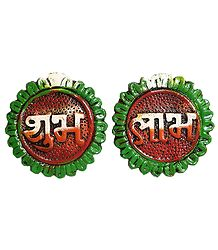 Shubh Laabh - Set of 2 - Wall Hanging